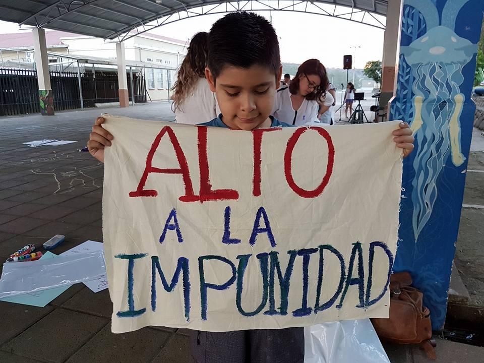 Manifestaciones contra los distintos tipos de violencia contra las mujeres. Foto por: Mariam Vargas Rodríguez.