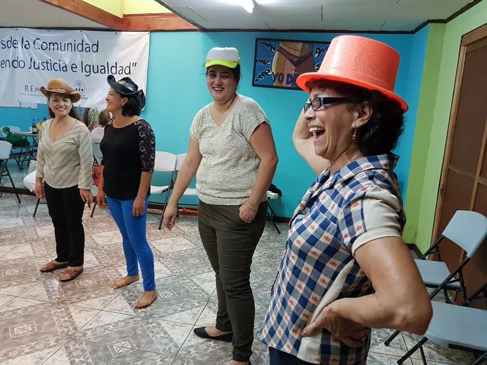 Actividades con metodologías lúdico-participativas. Foto: Mariam Vargas.
