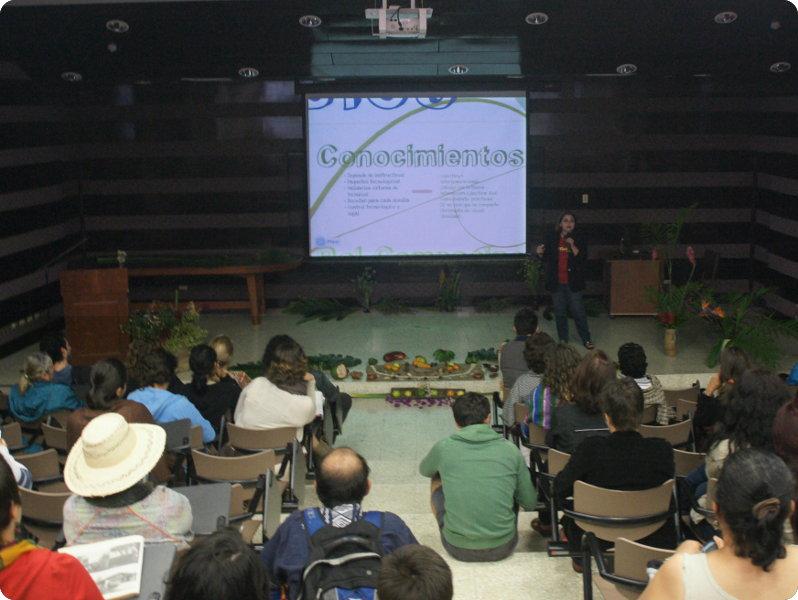 Actividades sobre seguridad alimentaria y desarrollo sostenible