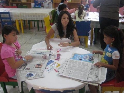 Actividades recreativas con las y los niños