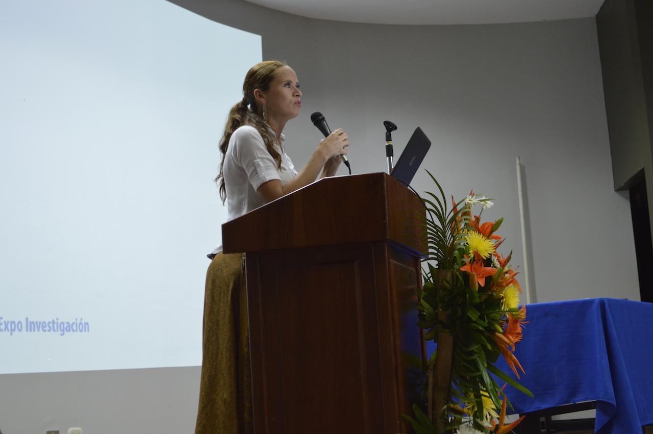 Presentación del proyecto TC-639: Potenciando habilidades lingüísticas y lógico matemáticas en la población sorda. Fotografía: Laura Camila Suárez