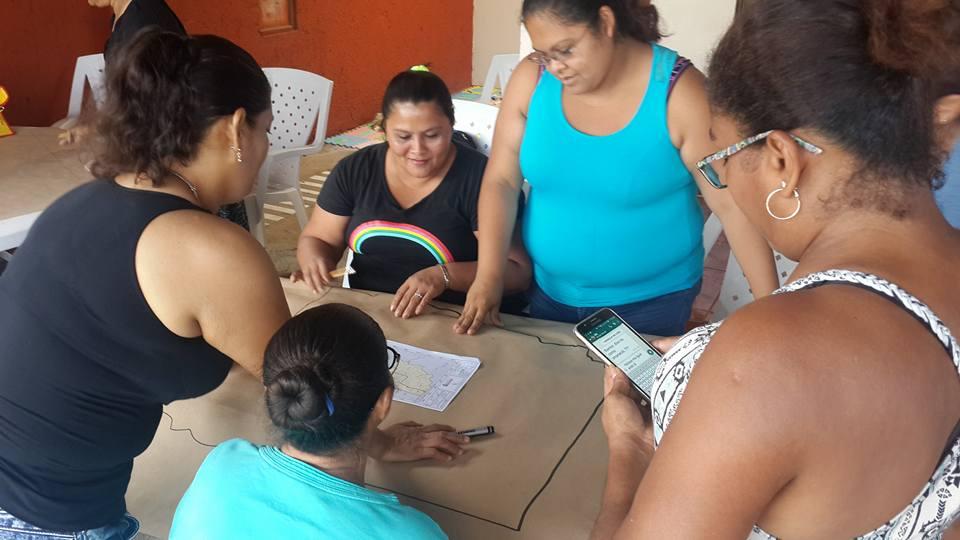 Diagnóstico comunitario. Foto: Mariam Vargas.