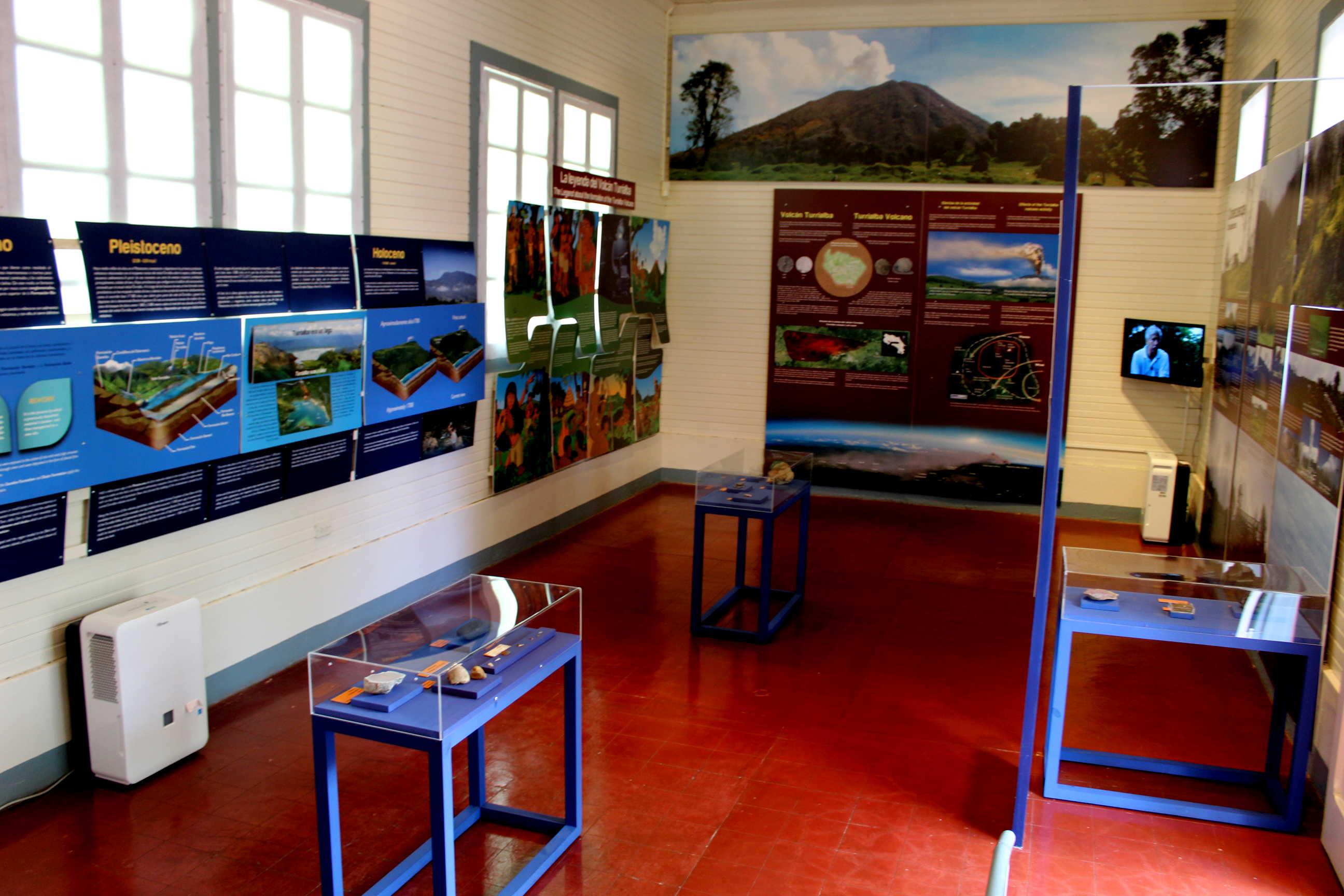 Exposicón temporal sobre geología