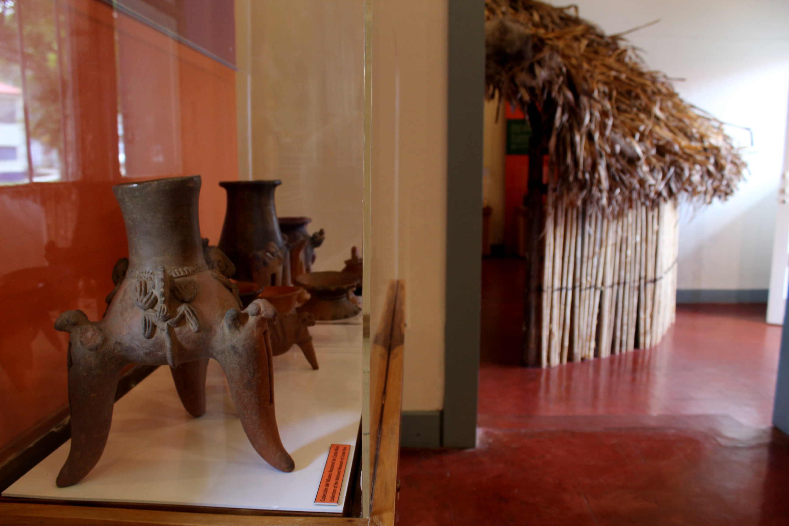 Exposición de arqueología.