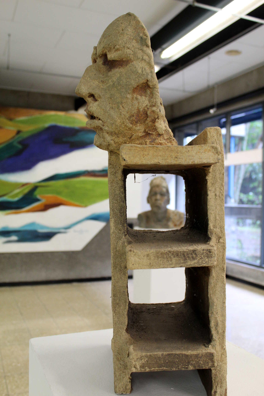 "Cerámica Escultórica de Alta Temperatura, ""Brick""."