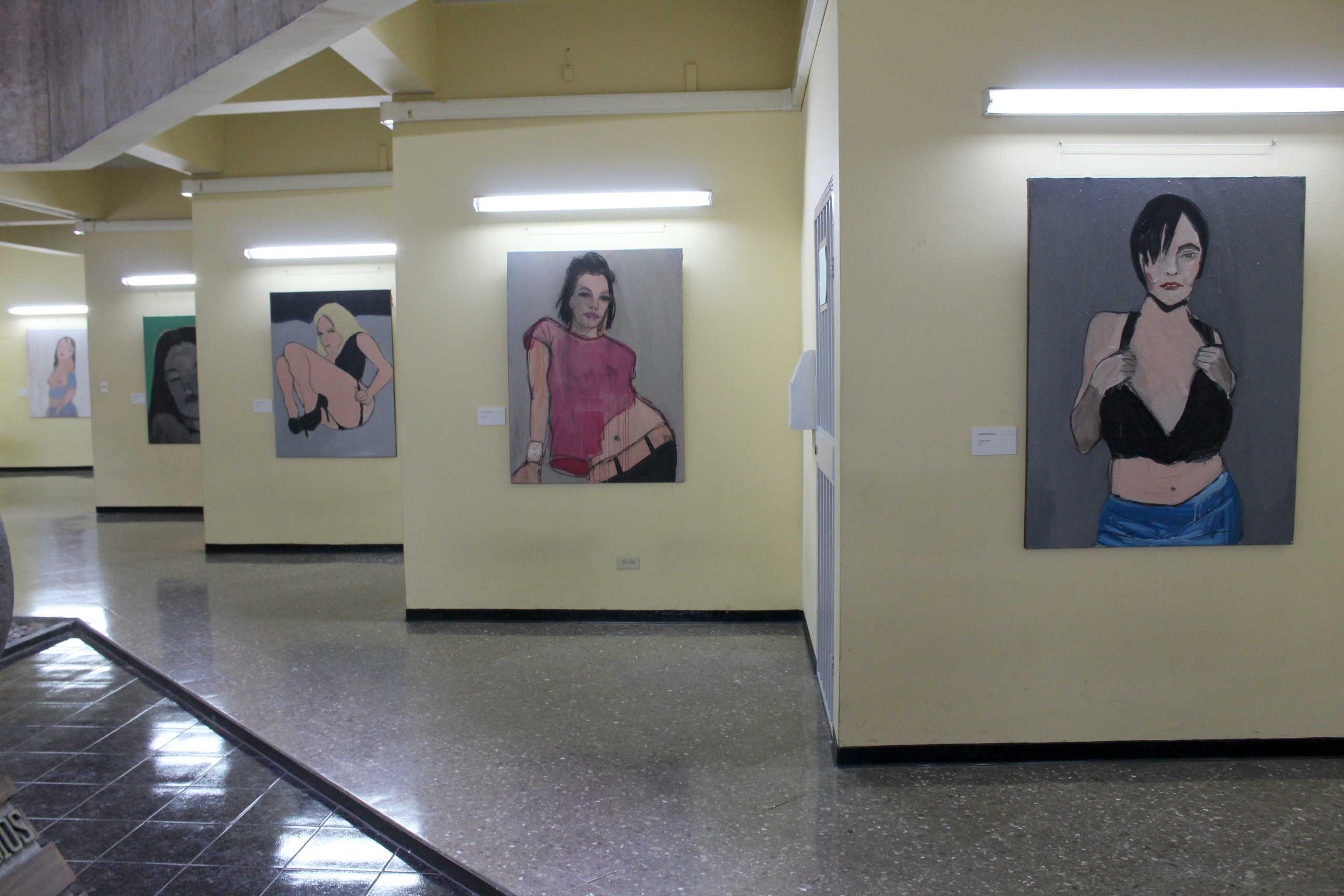 """Exposición """"Las Flores del mal"""" del artista costarricense José Miguel Rojas González. Foto:Adriana Araya"""