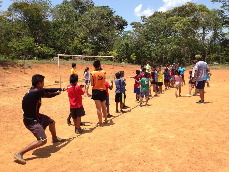 Diversas actividades recreativas formaron parte de la jornada. Foto: Cecilia Romero.