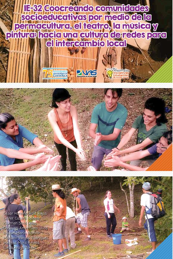IE-32 Coocreando comunidades socioeducativas por medio de la permacultura, el teatro y la pintura