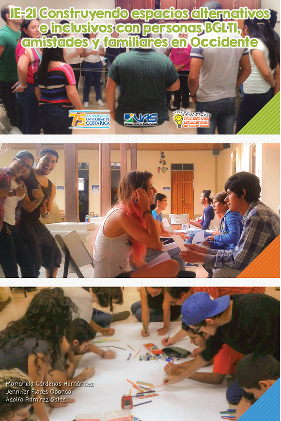 IE-21 Construyendo espacios alternativos e inclusivos con personas BLGTI, amistades y familiares en Occidente