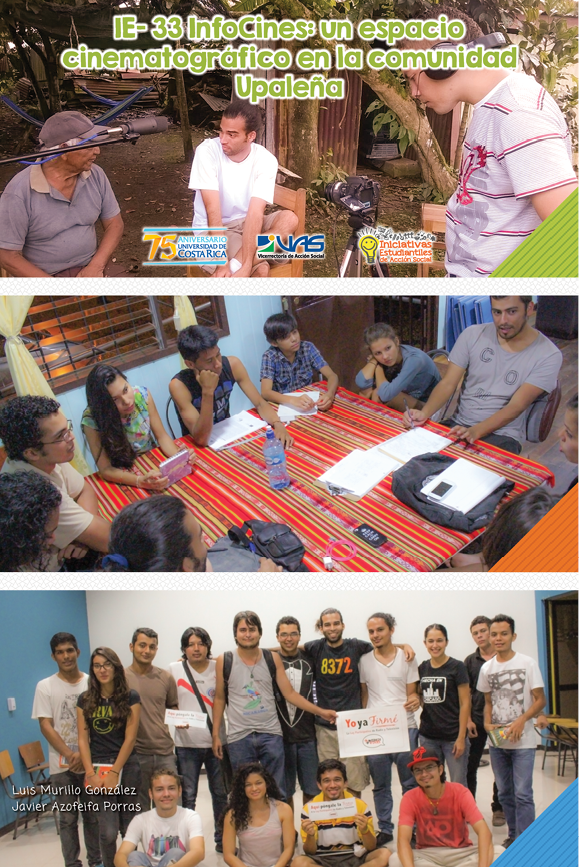 IE-33 Infocines: un espacio cinematográfico en la comunidad upaleña
