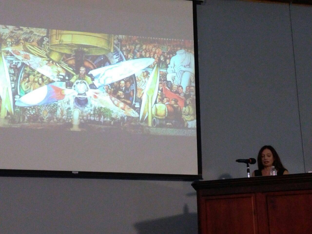 La académica argentina Susana Bercovich participó en el cine foro en la Sede de Guanacaste.