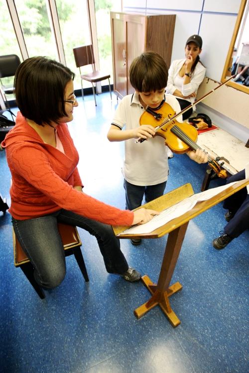 Pequeño violinista