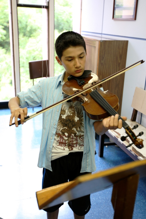 Violinista EBM San José