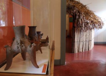En el Museo Regional, ubicado en Turrialba, se puede apreciar apreciar la herencia cultural dejada por los ancestros.