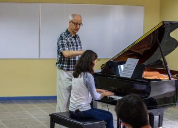 El campamento se realizará del 10 al 13 de julio y recibirá a pianistas y estudiantes de piano mayores de 9 años. Foto: cortesía del Conservatorio de Música de Occidente.