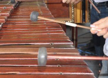 El taller Internacional de Marimba se imparte en el recinto de Santa Cruz de la Sede de Guanacaste del 12 al 22 de julio, de 8:00 a.m. a 5:00 p.m. y es gratuito. Fotografía archivo VAS.