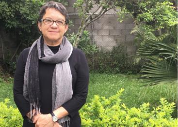 Para la Dra. Monserrat Sagot la investigación debe ser vista como un componente esencial de la acción social universitaria. Foto Eduardo Muñoz.