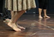 I Jornada de Acción Social en Bellas Artes, Taller teórico-práctico sobre expresión corporal para el trabajo artístico con comunidad a cargo del Máster Gustavo Hernandez.