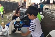 La ciencia también llamó la atención de los más pequeños. Foto por: Hazel González.