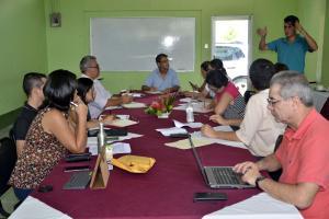 La actividad forma parte de las acciones de divulgación que realiza la Subcomisión de Difusión de los Informes del Programa Estado de la Nación, adscrita a CONARE. Foto: Claudia Castro.