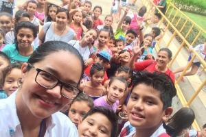 Más de 60 niños y niñas de distintas zonas de Puntarenas participaron en el Campamento de Desarrollo Humano. Fotografías cortesía de la Sede del Pacífico UCR