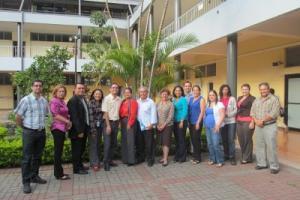 La presentación de la Comisión Organizadora del Programa Feria Nacional de Ciencia y Tecnología se realizó en la Facultad de Educación. (Foto Mariela María Solís González)