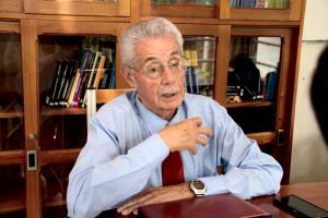 El Dr. Daniel Camacho considera que la acción social es el vínculo íntimo y esencial de la UCR con la sociedad, sus problemas.  Foto archivo ODI