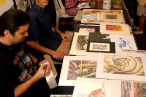 En la Feria habrá pinturas, esculturas, cerámicas a la venta, así como actividades para todo público. Foto: Archivo