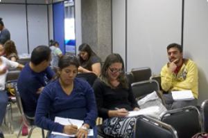A cada taller de capacitación asisten entre 60 y 80 profesores, princialmente del área central, pero también han llegado desde San Vito, Puntarenas y Coto Brus. Fotografía: Stefani Díaz