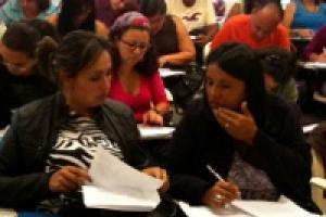En el proyecto se imparten charlas y cursos de Matemática Elemental y Cálculo para capacitar a docentes. Fotografía: Archivo