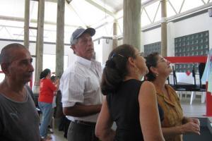 Personas adultas mayores asisten a talleres para conocer sus derechos. Fotografía: Cortesía PIAM.