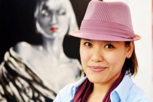 La artista Man Yu radica en Costa Rica desde 1986 y sus trabajos hiperrealistas son muy reconocidos.  Foto: Instituto Confucio