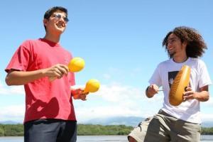 La UCR propone actividades artísticas a jóvenes del país como otra forma de promover el desarrollo cultural costarricense. Foto archivo VAS.