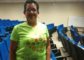 Doña Liliana participó en la edición anterior de EVISAy actualmente se encuentra en seguimiento. También es promotora y motivadora del programa. Foto: Rebeca Gu.