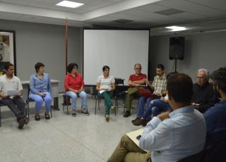 En la actividad participaron docentes y estudiantes involucrados en iniciativas de Acción Social. Foto: Laura Camila Suárez