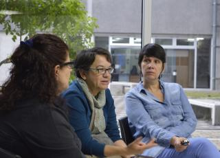 En el cierre de la actividad se realizó una socialización sobre los temas que los diferentes grupos de trabajo identificaron. Foto: Laura Camila Suárez