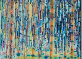 Lluvia de Arcoiris de Herbert Bolaños (original 56 x76 cm).