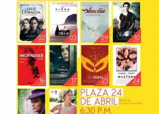Afiche del Cine UCR marzo 2017.
