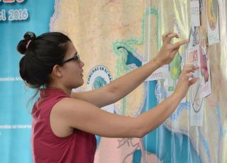 Iniciativas estudiantiles  son ideas que rompen el esquema académico de la Universidad y mejoran las condiciones de una comunidad (foto Laura Rodríguez).