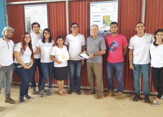 Representantes de la ASADA de Potrero Grande. Foto por Victoria Salazar.