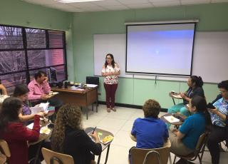 Con un taller al equipo administrativo el pasado 18 de setiembre la ENu inició su Encuentro comunitario y de reflexión, proceso de reflexión que programó grupos focales y entrevistas, y que concluirá en abril del 2018.  Foto cortesía ENu.