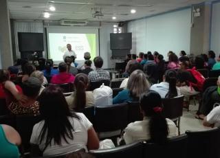 Por sexto año consecutivo el TCU 607 en conjunto con RedESS Costa Rica desarrolló el Encuentro de Organizaciones de Economía Social Solidaria, como parte de las actividades conjuntas de la VI Feria de Economía Social Solidaria. Estos encuentros son excelentes espacios para el compartir de ideas, experiencias y confluencias de sentimientos y sueños, con la Economía Social Solidaria como denominador común. Foto: RedESS Costa Rica.