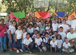Campamento de la Sede de Guanacaste. Fotografía por Neldys Ramírez.
