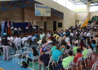 IV Conversatorio académico interuniversitario (2016): Situación y quehacer de las universidades públicas sobre el tema del recurso hídrico en la provincia de Guanacaste (foto Karol Ramirez ).