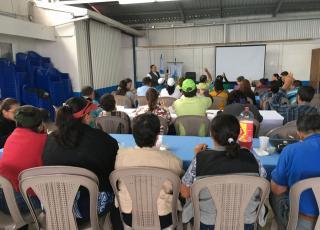 Comunidad se une en defensa de la microcuenca del cantón de Alvarado