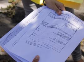 Presentación de documento. Fotografía: Josué Pérez Hidalgo. Edición: Crístal Torrente