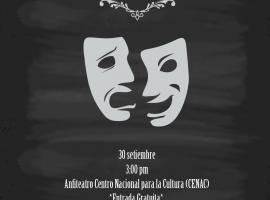 Afiche de la obra de teatro.