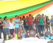 Comunidad universitaria y estudiantes de instituciones locales participaron en las actividades.