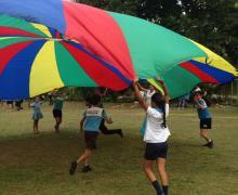 Actividades al aire libre que apoyen el aprendizaje académico