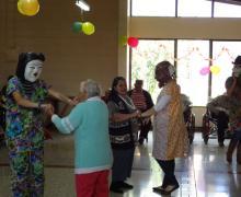 Baile con mascaradas